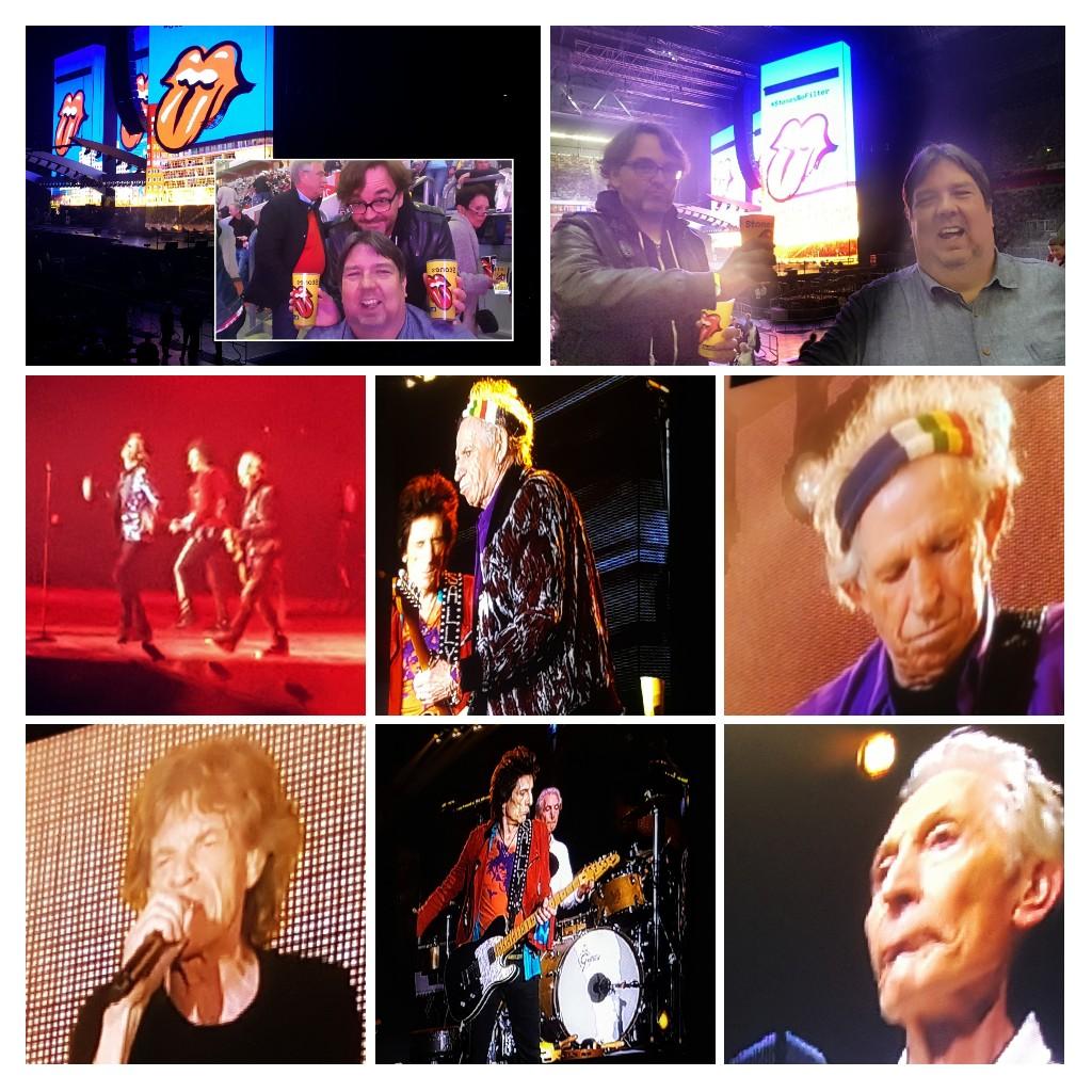 herr grimo und ich am 09.10.2017 bei den Rolling Stones in Düsseldorf